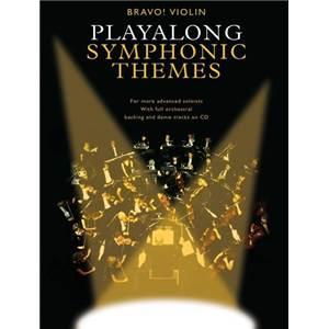 COMPILATION - PLAY ALONG SYMPHONIC THEMES VIOLIN + CD