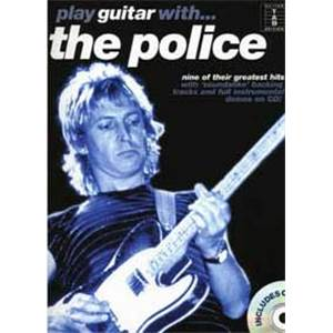 POLICE THE - PLAY GUITAR WITH... + CD