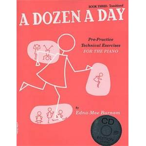 BURNAM EDNA MAE - A DOZEN A DAY VOL.3 + CD