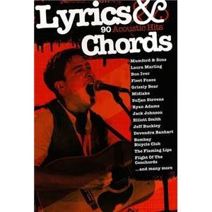 COMPILATION - LYRICS AND CHORDS 91 ACOUSTIC HITS