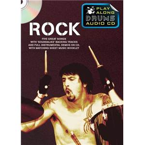COMPILATION - ROCK PLAY ALONG DRUMS (FORMAT DVD) + CD