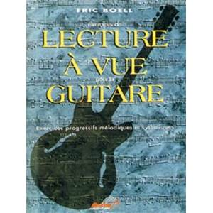 BOELL ERIC - LECTURE A VUE GUITARE EXERCICES PROGRESSIFS