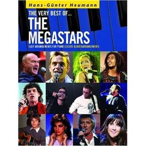 COMPILATION - THE VERY BEST OF THE MEGASTARS FOR EASY PIANO SOLOS + CD