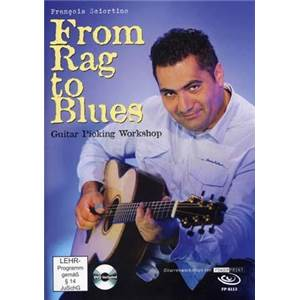 SCIORTINO FRANCOIS - FROM RAG TO BLUES GUITAR PICKING WORSHOP + CD