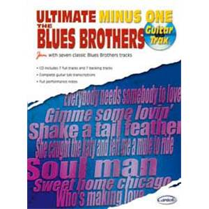 BLUES BROTHERS - ULTIMATE MINUS ONE GUITAR TRAX + CD