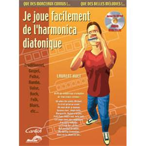 HUET LAURENT - JE JOUE FACILEMENT HARMONICA + CD