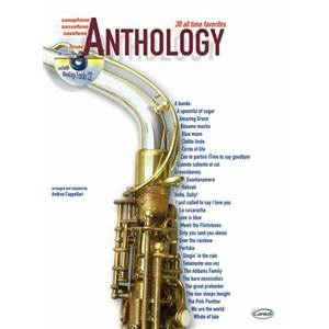 COMPILATION - ANTHOLOGY TENOR SAXOPHONE VOL.1 30 ALL TIME FAVORITES + CD