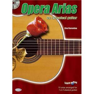 COMPILATION - OPERA ARIAS FOR CLASSICAL GUITAR + CD