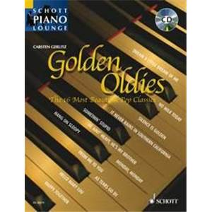 GOLDEN OLDIES (ARRANGEMENTS DE GERLITZ CARSTEN) +CD - PIANO