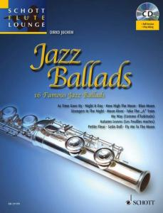 JAZZ BALLADS (ARRANGEMENTS DE DIRKO JUCHEM) +CD  - FLUTE ET PIANO