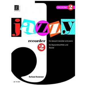 BONSOR BRIAN - JAZZY RECORDER VOL.2