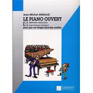 ARNAUD JEAN MICHEL - PIANO OUVERT (METHODE DEBUTANTS) + CD