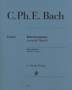 BACH CARL PHILIPP EMANUEL - SONATES CHOISIES VOLUME 1 - PIANO