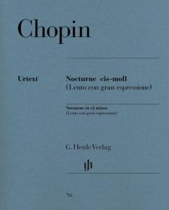 CHOPIN FREDERIC - NOCTURNE EN DO# MINEUR - PIANO