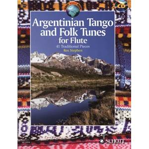 ARGENTINIAN TANGO AND FOLK TUNES + CD (41 TRADITIONNELS) - FLUTE