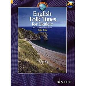 ENGLISH FOLK TUNES + CD (37 PIECES TRADITIONNELLES) - UKULELE