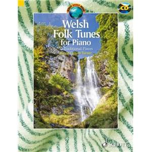 WELSH FOLK TUNES +CD (32 AIRS TRADITIONNELS DU PAYS DE GALLES) - PIANO