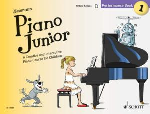 HEUMANN HANS GUNTER - PIANO JUNIOR : PERFORMANCE BOOK 1 +ONLINE ACCESS