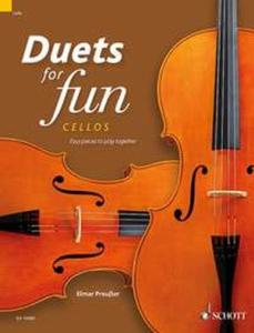 COMPILATION - DUETS FOR FUN : CELLOS - 2 VIOLONCELLES