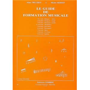 TRUCHOT A/MERIOT M - GUIDE FORMATION MUSICALE VOL.4 PREPARATOIRE 2