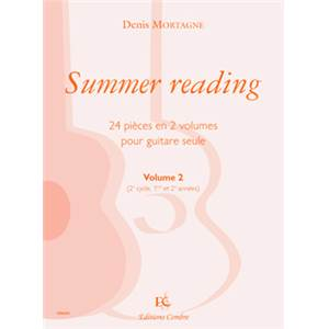 MORTAGNE DENIS - SUMMER READING VOL.2 - GUITARE