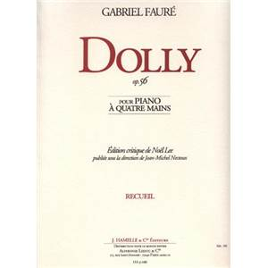 FAURE GABRIEL - DOLLY OP.56 POUR PIANO 4 MAINS