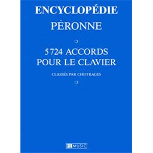 PERONNE PATRICK - ENCYCLOPEDIE DES ACCORDS CLAVIER