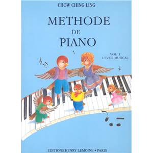 CHOW CHING-LING - METHODE DE PIANO VOL.1 - PIANO
