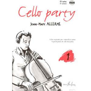 ALLERME JEAN MARC - CELLO PARTY VOL.1 + CD