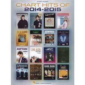 COMPILATION - CHART HITS OF 2014-2015 EASY PIANO SONGBOOK