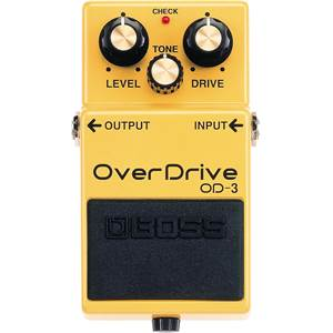PEDALE D'EFFETS BOSS OD 3 OVER DRIVE