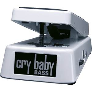 PEDALE D'EFFETS DUNLOP CRYBABY BASSE 105Q