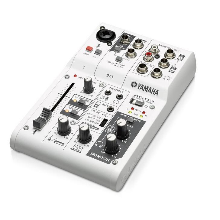 Table de mixage yamaha ag03 - Table de mixage amplifiee yamaha ...