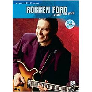 FORD ROBBEN - PLAYING THE BLUES GUITAR TAB. + CD