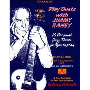 RANEY JIMMY - AEBERSOLD 029 DUETS + CD