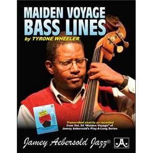 WHEELER TYRONE - BASS LINES AEBERSOLD VOL.54