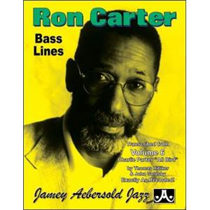 CARTER RON - AEBERSOLD 006 BASS LINES
