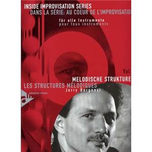 BERGONZI JERRY - INSIDE IMPROVISATION VOL.1 STRUCTURES MELODIQUES + CD