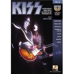 KISS - GUITAR PLAY ALONG DVD VOL.34