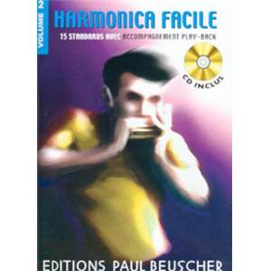 COMPILATION - HARMONICA FACILE VOL.2 + CD