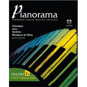 BORDIER/JEAN/LECLERC/LECUSSANT - PIANORAMA VOL.1A + CD