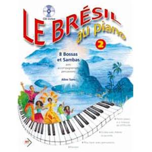 SANS ALINE - LE BRESIL AU PIANO VOL.2 + CD