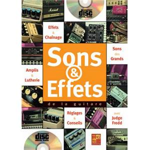 FREDD JUDGE - SONS ET EFFETS DE LA GUITARE + CD