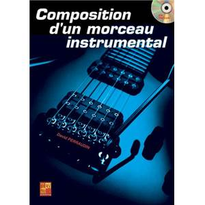 PERRAUDIN DAVID - COMPOSITION D'UN MORCEAU INSTRUMENTAL A LA GUITARE + CD
