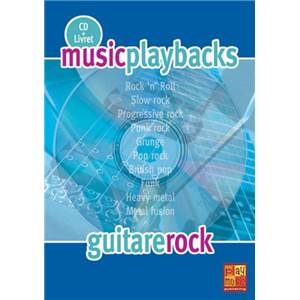 FDBAND - MUSIC PLAYBACKS GUITARE ROCK + CD