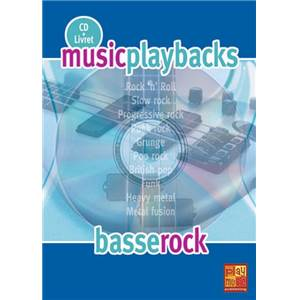 FDBAND - MUSIC PLAYBACKS BASSE ROCK + CD