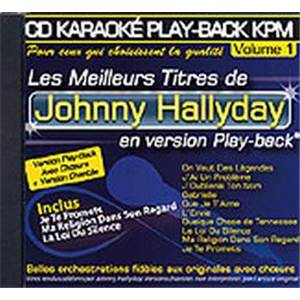 HALLYDAY JOHNNY - CD KARAOKE VOL.01