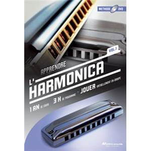 MUSICATEM - DVD METHODE D'HARMONICA 1 AN DE COURS