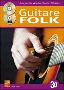 LAISNET STEPHANE - GUITARE FOLK 3D + CD + DVD