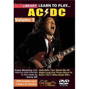 AC/DC - DVD LICK LIBRARY LEARN TO PLAY VOL.3